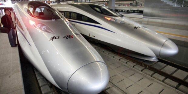 Zug bricht Geschwindigkeits-Rekord