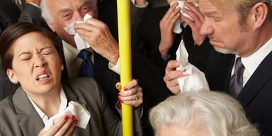 Hier stecken Sie sich mit Grippe an