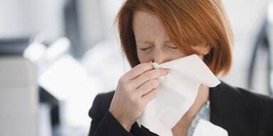 Sind Sie allergisch auf Hausstaub?