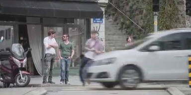 Schockvideo Handy