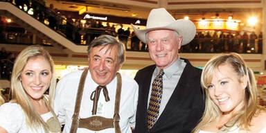 Richard Lugner & Larry Hagman