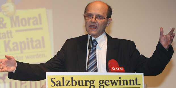 Salzburger FPÖ wählt Klubobmann ab