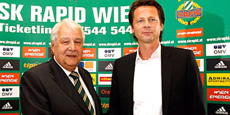 Peter Schöttel neuer Rapid-Coach