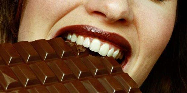 Schokoladen-Esser sind dünner