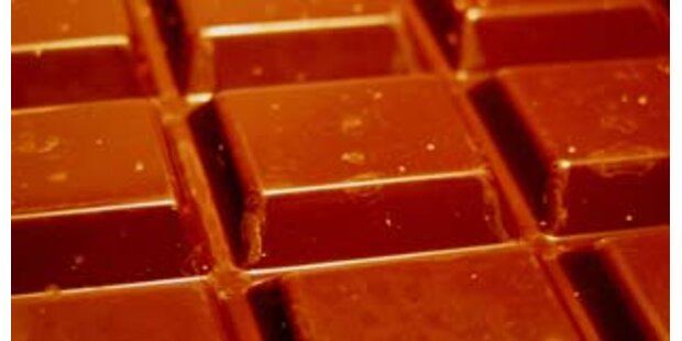 Auch Schokolade von Milch-Skandal betroffen