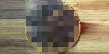 Unappetitliches Foto: Ist DAS die neue Schoko-Pizza nach dem Backen?
