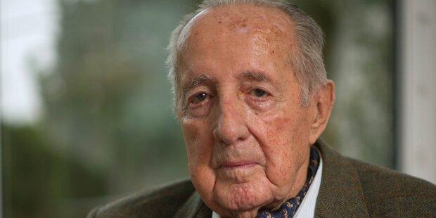 Star-Journalist Scholl-Latour ist tot