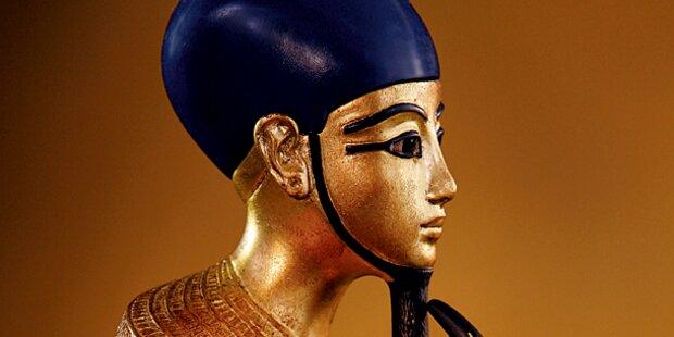 Sensationsausstellung über Pharao