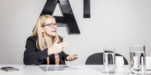 A1-Chefin Margarete Schramböck geht