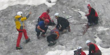 Opa (70) überlebt 6 Tage in Eis- Spalte