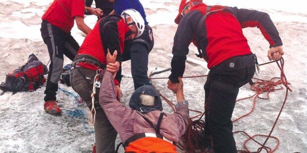 Eis-Opa: Meine 6 Tage in der Gletscher-Spalte