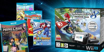Gewinne ein Wii U Bundle mit Mario Kart 8