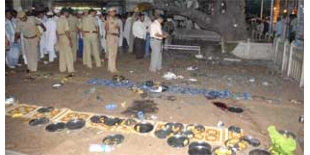 Bombenanschlag auf muslimischen Schrein in Indien