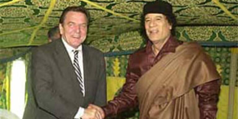 Fädelte Schröder Ausbildungsdeal mit Libyen ein?