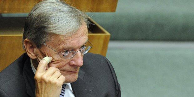 Schüssel beschloss am Wochenende Rücktritt
