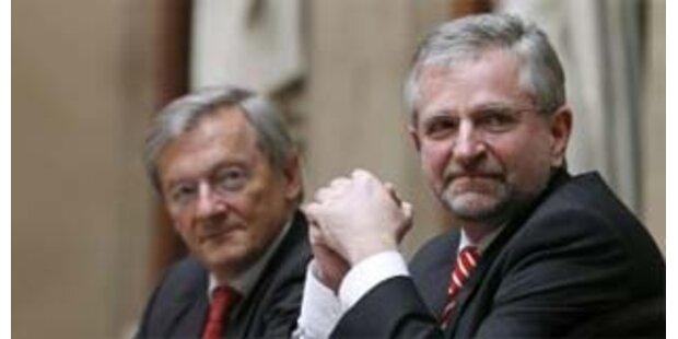 ÖVP schon vier Prozentpunkte vor der SPÖ