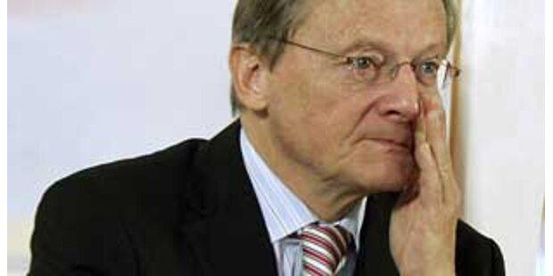 Schüssel versäumt Chefposten des EU-Weisenrates