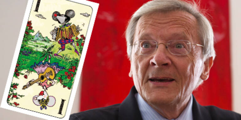 Ex-Kanzler Schüssel kreiert Tarock-Karten
