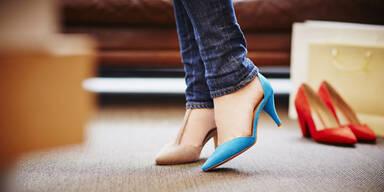 Getestet: Manchmal steckt Gift im Schuh