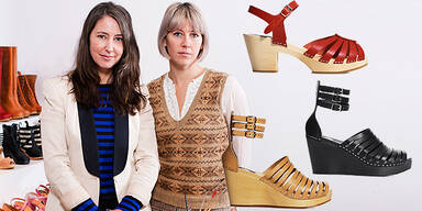 Swedish Hasbeens: Holzschuhe für H&M