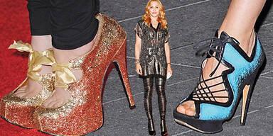 Die irren Schuhe der Stars