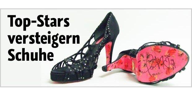 In den Schuhen der Hollywood-Stars