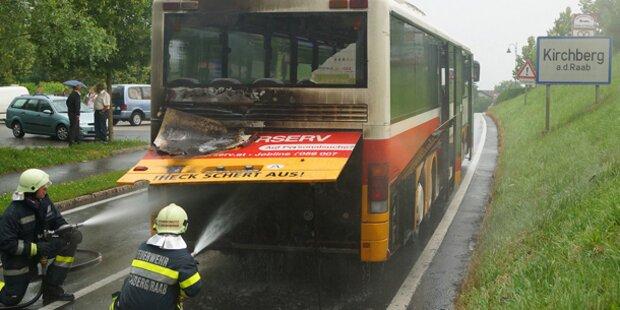 Steirischer Schulbus fing Feuer