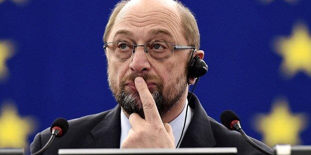 Schulz verabschiedet sich im Plenum