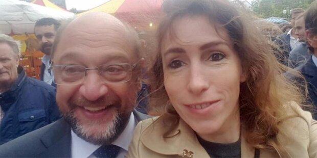 Schulz tappt in Selfie-Falle der AfD