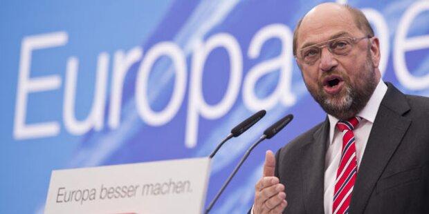 Martin Schulz wird EU- Sozialdemokraten-Chef
