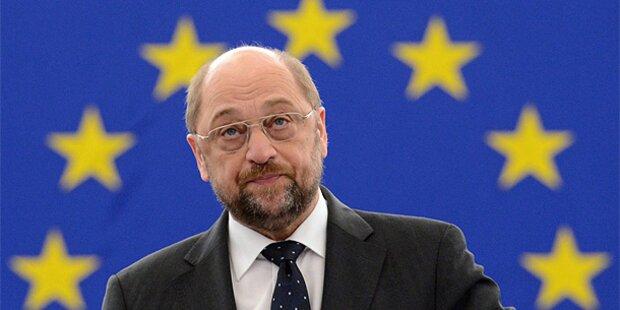 Schulz bleibt EU-Parlamentspräsident