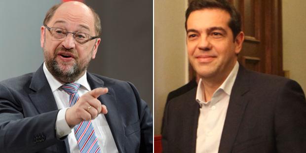 Schulz Tsipras