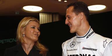 Corinna Schumacher: 'Michael fehlt mir jeden Tag'