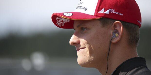 Schumacher legt heute im Ferrari los