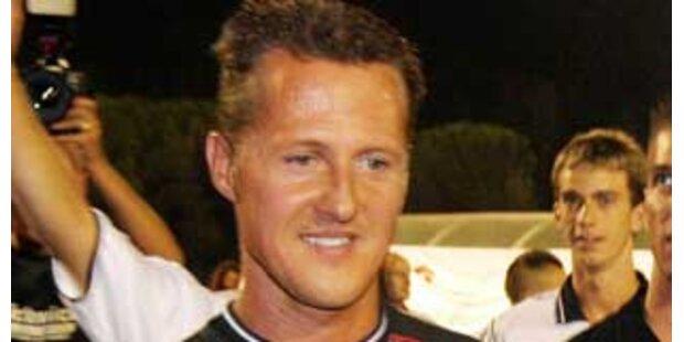 Schumacher verbannte Taxifahrer auf Rückbank