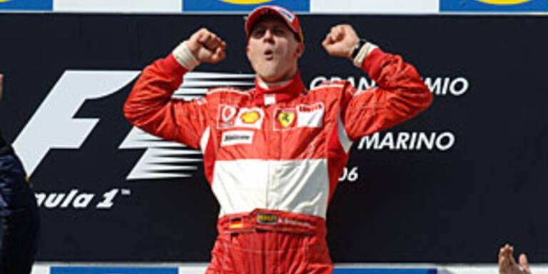 Jubelt Schumi 2008 für McLaren?