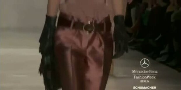 Mercedes-Benz Fashion Week: Schumacher