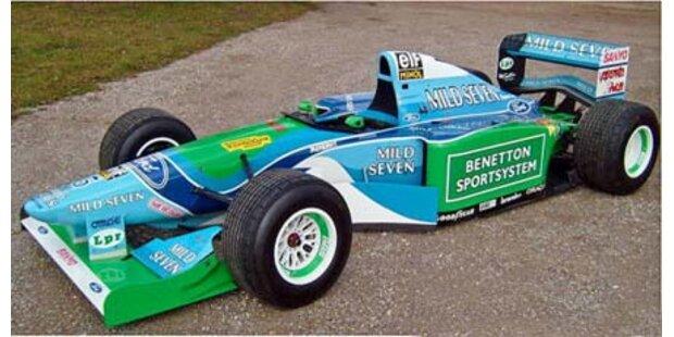 Schumis erstes Weltmeisterauto bei eBay
