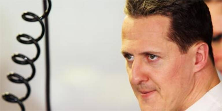 Superstar Michael Schumacher funkt SOS