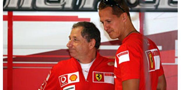 Todt will mit Schumi zur Formel 1