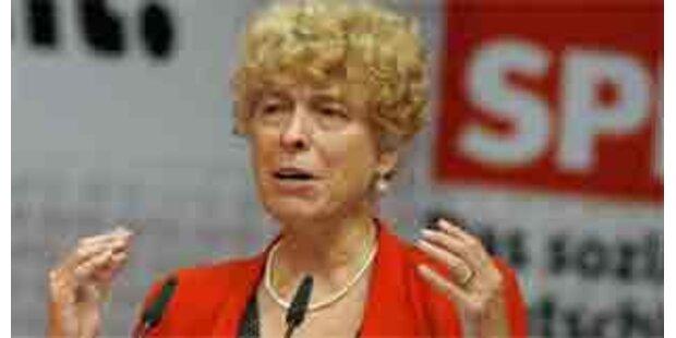 Schwan warnt SPD vor Beschluss gegen Linksbündnis