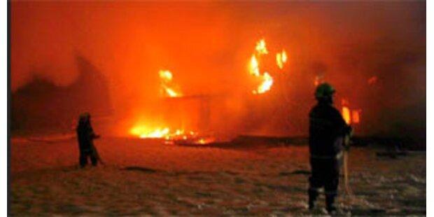 Brand in Heizwerk richtet 1,5 Mio-Euro-Schaden an