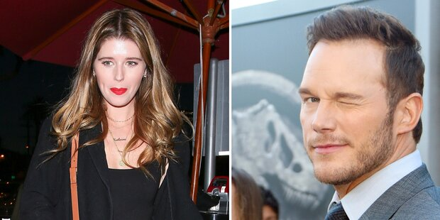 Arnie-Tochter flirtet mit Chris Pratt