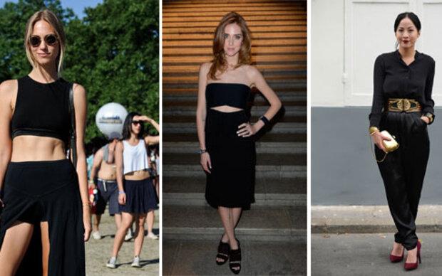 Tipps für schwarze Kleidung im Sommer