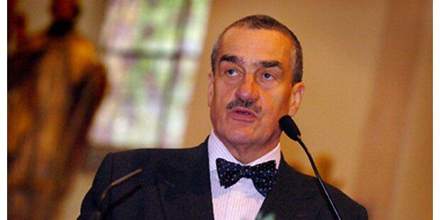 Ein Fürst in Prag im Außenamt