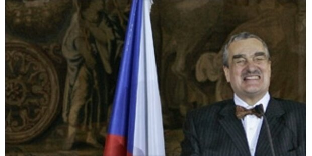 Prag weist Sarkozys EU-Fahnen-Kritik zurück