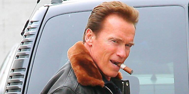 Schwarzenegger wird Comic-Helden