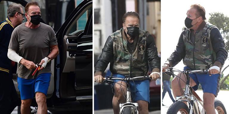 Schwarzenegger: Woher stammen mysteriöse Verletzungen