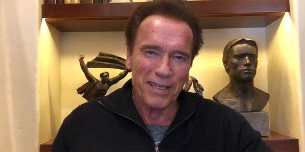 Schwarzenegger: Nicht topfit nach Not-OP
