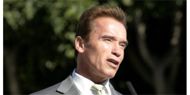 Schwarzenegger und Gore gemeinsam im Klima-Kampf